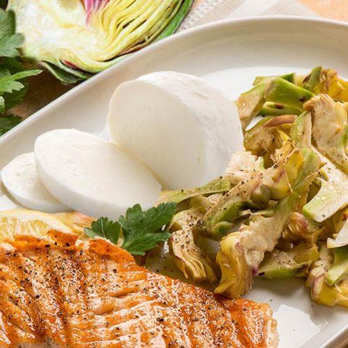 receta-alcachofas-salmon